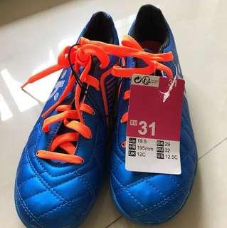 Soccer Boots EUR31  US12.5 JR