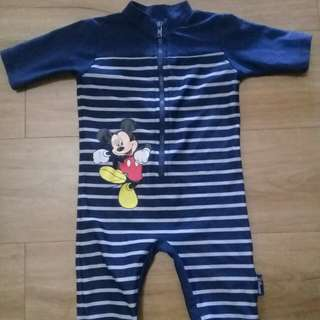 Mickey Mouse Swimwear- 6 to 9 mos.