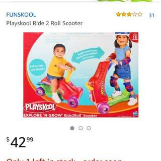 Playskool Ride2Roll Scooter