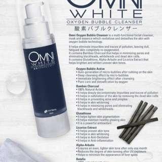 Omni White Oxygen Bubble Cleanser