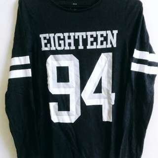 EIGHTEEN 94 STRIPES LONG TOP (size S)