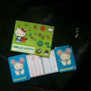 Hello Kitty貼紙,電話磁力簿
