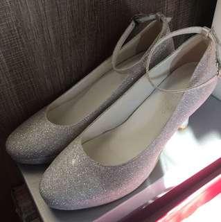 結婚婚鞋 90%新