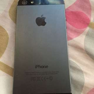 Iphone 5 Globe locked 16gb