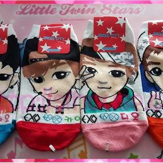 全新 Exo Kai DO Tao Xiumin 韓國 襪 包郵