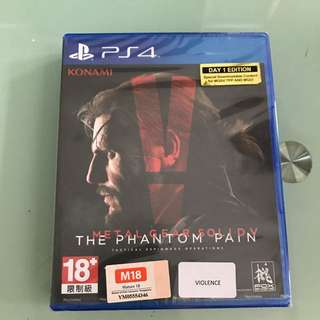 ps4 the phantom pain