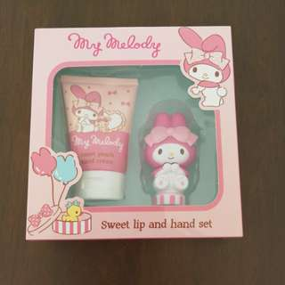 My Melody Sweet lip and hand set