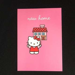 Hello Kitty New Home Cards