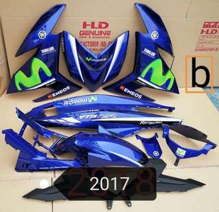 Coverset for MX Jupiter / Spark 135cc (various colors/designs available!)