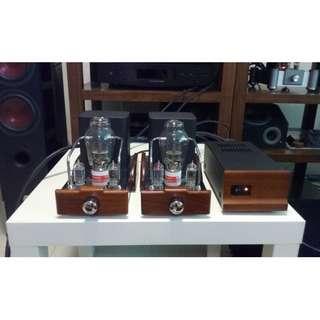 Dared 300B SET Mono Block Amplifers