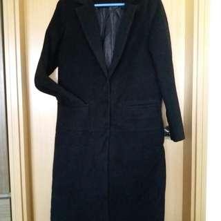 潮款絨長外套,長41.5吋,闊34吋