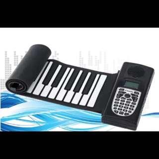 49键手卷折叠电子琴软钢琴带手感独立版带外音