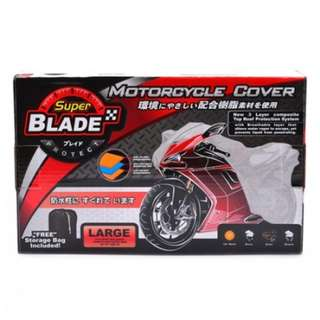 Blade Motorcycle Cover Large (Gray)