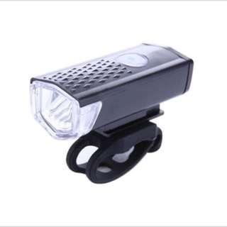 300 lumens USB front light
