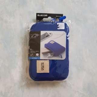 Elecom Borsa Gadget Pouch(Blue)