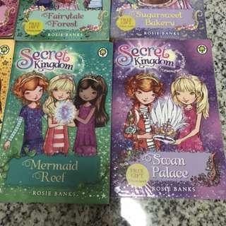 Children's story books - Secret Kingdom