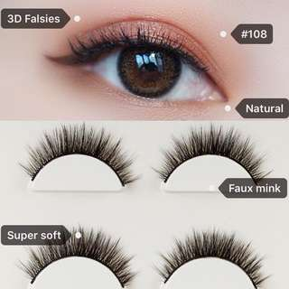 3D Faux Mink Lashes (#108 CS)