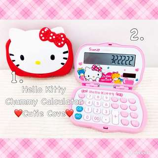 *IN STOCK IN SG* Hello Kitty Chummy Calculator