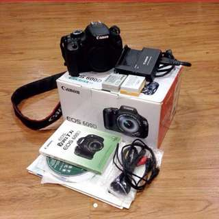 Canon EOS 600D (Body Only)