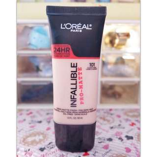 Loreal Infallible Pro Matte Liquid Foundation MakeUp