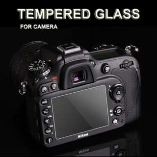 9H Tempered Glass DSLR / Screen Protector Camera
