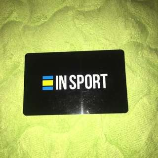 INSPORTS $150 gift card