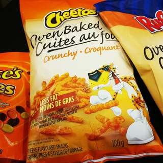 Cheetos oven baked crunchy