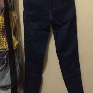 Celana jeans dark blue no.27