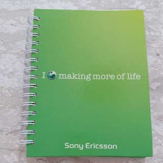 Brand New Sony Ericsson Note Book