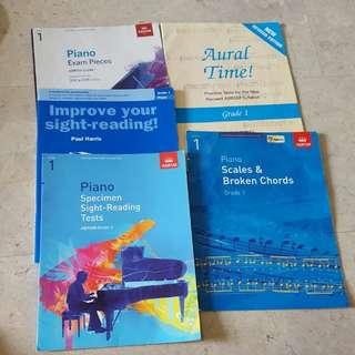 Piano Books ABRSM Grade 1 2018