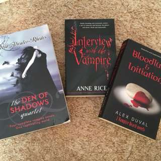 Interview with the vampire + other vampire books