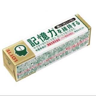 日本 人氣 記憶力香口膠