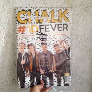 One Direction Chalk Magazine