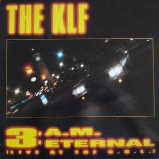 "Vg+ KLF single 12"" record vinyl $12 pop rock 3 am eternal"