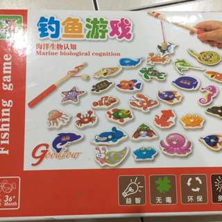 Magnetic Fishing game (95% new condition)