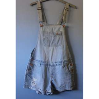 COTTON ON DENIM OVERALLS SIZE 10