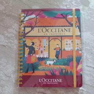 Brand New L'occitane Note Book