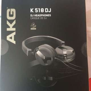 AKG K518DJ 🎧 Headphones