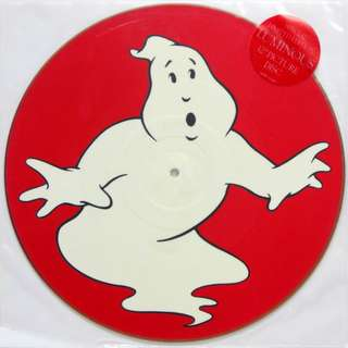 Nm limited ghostbusters record vinyl luminous press ost single