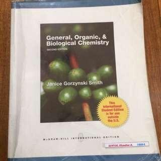 Janice Smith General, Organic & Biological Chemistry