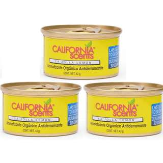 California Scent Organic La Jola Lemon (Bundle of 3)