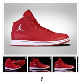 NIKE AIR JORDAN EXCLUSIVE GYM RED