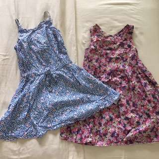 H&M and Cotton On dresses for 4-5yo