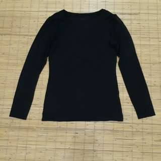 Uniqlo heattech black