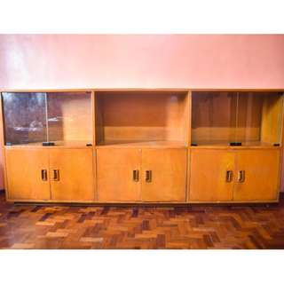 Wooden Cabinet (7ft length)