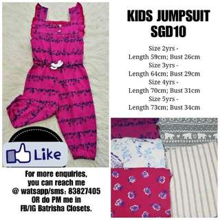 KIDS JUMPSUIT