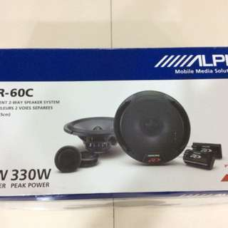 "Alpine 6.5"" component speaker"