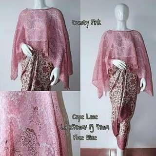 Set Kebaya cape lace