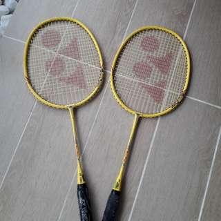 Kids size Yonex Badminton rachets