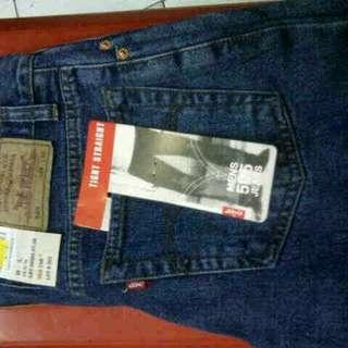Blue jeans levis 505